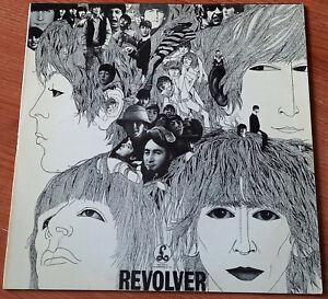 THE BEATLES Revolver 1976 UK LP PARLOPHONE PCS7009