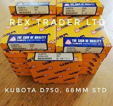 1 * Ring Set for Kubota D750, ZB500, 68mm, bore STD Size