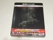 """BLADE RUNNER:FINAL CUT"" JAPAN 4K Ultra HD Blu-ray STEELBOOK 1000692966 *SEALED"""