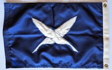 Vintage Nautical Sailing Burgee Flag Yacht Club • Secretary Feather Dura-Lite