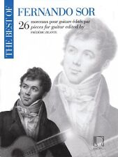 The Best of Fernando Sor Sheet Music 26 Pieces for Guitar NEW 050565793