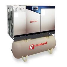 7.5HP Rotary Screw Air Compressor AIR End 7.5 hp Dryer Tank Mounted 120 Gallon