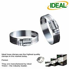"""IDEAL Box of 10 Tridon Hose Clamps Size #8 / 11-25mm 7/16 - 1"""""""