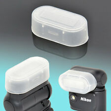 Flash Bounce Diffuser Dome Soft Cap Semi-Transparent V1 Nikon Speedlight SB-N5
