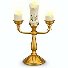 Disney Parks Beauty And The Beast Lumiere Light Up Candelabra New With Box