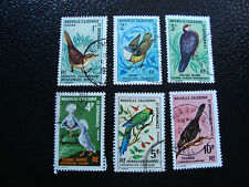 NOUVELLE CALEDONIE timbre yt n° 345 a 350 obl (A4) stamp new caledonia (E)