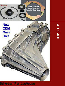 OEM GM Chevy Dodge Chrysler NP246 NP 246 Rear Transfer Case Half Heavy Duty PKG