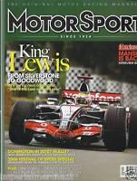 Motor Sport Racing Magazine Lewis Hamilton Nigel Mansell Festival Of Speed 2008