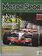 Motor Sport magazine Lewis Hamilton Nigel Mansell Festival of Speed