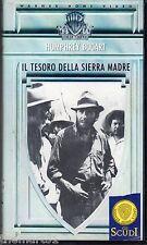 Il tesoro della Sierra Madre (1948) VHS WB 1a Ed. 1982