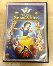 Disney Snow White and the Seven Dwarfs(DVD,2009,3-Disc Set) TESTED!
