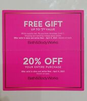 Bath & Body Works 20% Off Coupons Online Or In-store + Up To $7.50 Gift Exp 4/4