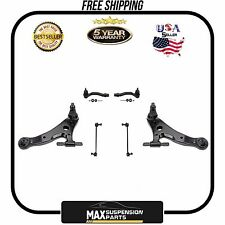 Lower Control Arm Arms Outer Tie Rods Sway Bar Links for Toyota Camry Highlander