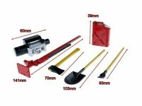 1/10 RC Jazrider Accessories Tool Set For Truck Crawler Tamiya HPI Axial Wraith