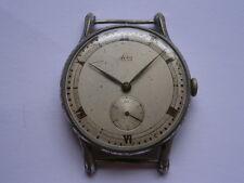 Reloj De Pulsera de Colección De Caballeros Reloj Mecánico Avia repuestos o reparación Hecho En Suiza