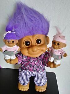 Russ Large Big Huge Troll Doll Rare Display type troll