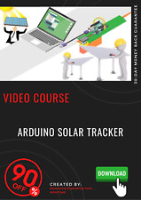 Arduino Solar Tracker Professional Video Course Training tutorial video guide