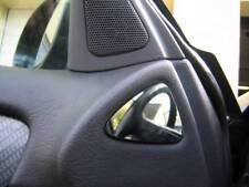 D MERCEDES w208 CROMO MASCHERINA QUADRO per porta di spatola in acciaio inox - 2 pannelli