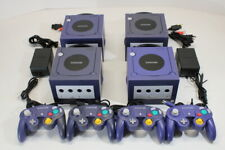 Nintendo GameCube Indigo Purple Gc Console Bundle Play Us Canada Region Games