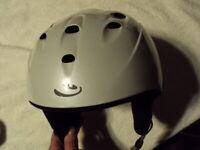 Extra Small Ski snowboard snow Helmet 540 Light Gray Five Forty 52-53.5cm XS