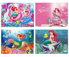 The Little Mermaid Personalised Blanket Ultra-Soft Micro Fleece Bed Sofa Gift