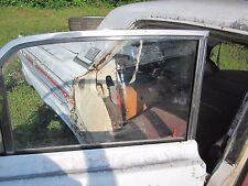 60 61 62-65 COMET FALCON 4 DOOR--WAGON RIGHT REAR DOOR GLASS WINDOW CLEAR 4D