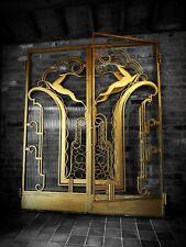 ORIGINAL ART DECO IRON DOORS - ACTEON - EDGAR BRANDT, PAUL KISS, SUBES, RUHLMANN