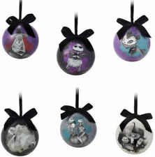 Nightmare Before Christmas Ball ORNAMENT SET 6 Limited JACK SKELLINGTON Sally
