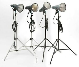 Broncolor Pulso G 1600 Joule 4 Heads and Stands