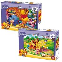 2 x Childrens Disney Jigsaw Puzzle Winnie The Pooh & Eeyore 24 Piece Kids 05244