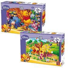 2 x Childrens Disney Jigsaw Puzzle Winnie The Pooh & Eeyore 24 Piece Kids 05244
