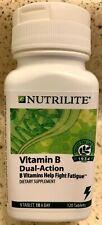 Nutrilite Vitamin B Dual-Action Fights Fatigue GF Caffeine Free 120 tablets NEW