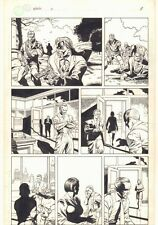 Fatale #2 p.8 - Broadway Comics - Gunmen and Reporters - 1996 art by J.G. Jones
