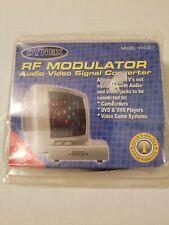 Dynex RF Modulator - Audio, RCA & S-Video Signal Converter WS-007 +++FREE WIRES!