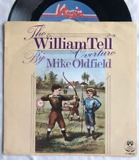 """MIKE OLDFIELD - William Tell Overture- Rare Dutch 7"""" with unique Picture Sleeve"""