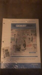 The Sociology Project. My SocLab. Pearson