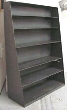 "VINTAGE INDUSTRIAL 25.5"" X 18"" X 7"" TAPERED TO 3"" DEEP GREY (6) SHELF WALL UNIT"