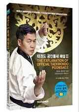 The Explanation of Official Taekwondo Poomsae Guide Book Korean English Kpop V.2