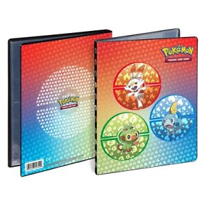 Pokemon TCG Ultra PRO 4 Pocket Portfolio Album Binder - Galar Region Starters