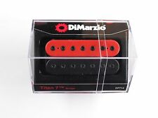 DiMarzio Titan 7 String Bridge Humbucker Black/Red W/Black Poles DP 714