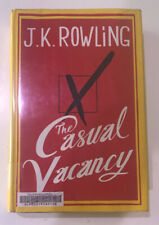 The Casual Vacancy by J. K. Rowling HC DJ First Ed Ex-Library Book
