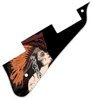 Pickguard Pick Guard Graphical Scratchplate Gibson Les Paul Guitar Miss Chief