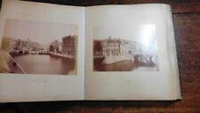 ROME 19THC PHOTOGRAPHS OF ITALY IN LARGE QUARTO ALBUM c 1879 SCULPTURE VIEWS