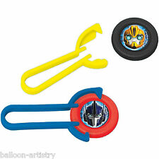 12 Transformers Optimus Birthday Party Toys Favours Disc Throwers Shooters