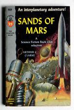 SANDS OF MARS Arthur C Clark SCI-FI PBack Pocket 989 1stP 1954 LNew