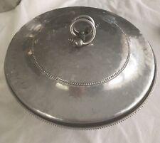 Vintage Bw Aluminum Covered Bowl