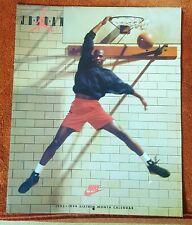 VINTAGE 1992 MICHAEL JORDAN NIKE CALENDAR RARE!