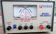 Tucker Directional Rf Wattmeter Model Tm-3000Uv Swr Meter