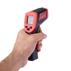 INFRARED THERMOMETER LCD LASER TEMPERATURE  NON-CONTACT IR PYROMETER DURABLE