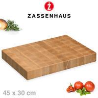 Zassenhaus - Hackblock Stirnholz - 45x30 cm